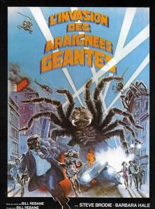 Invasion des araignées géantes